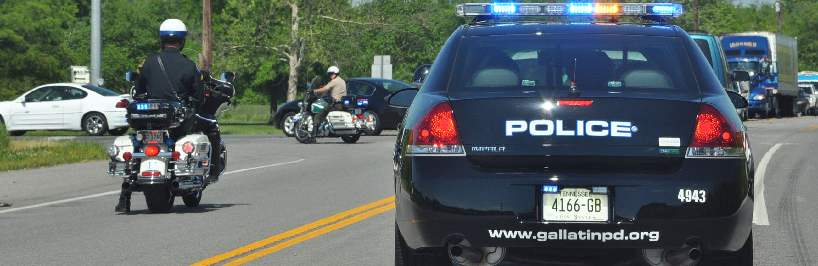 GPD Police Car and Motorcycle