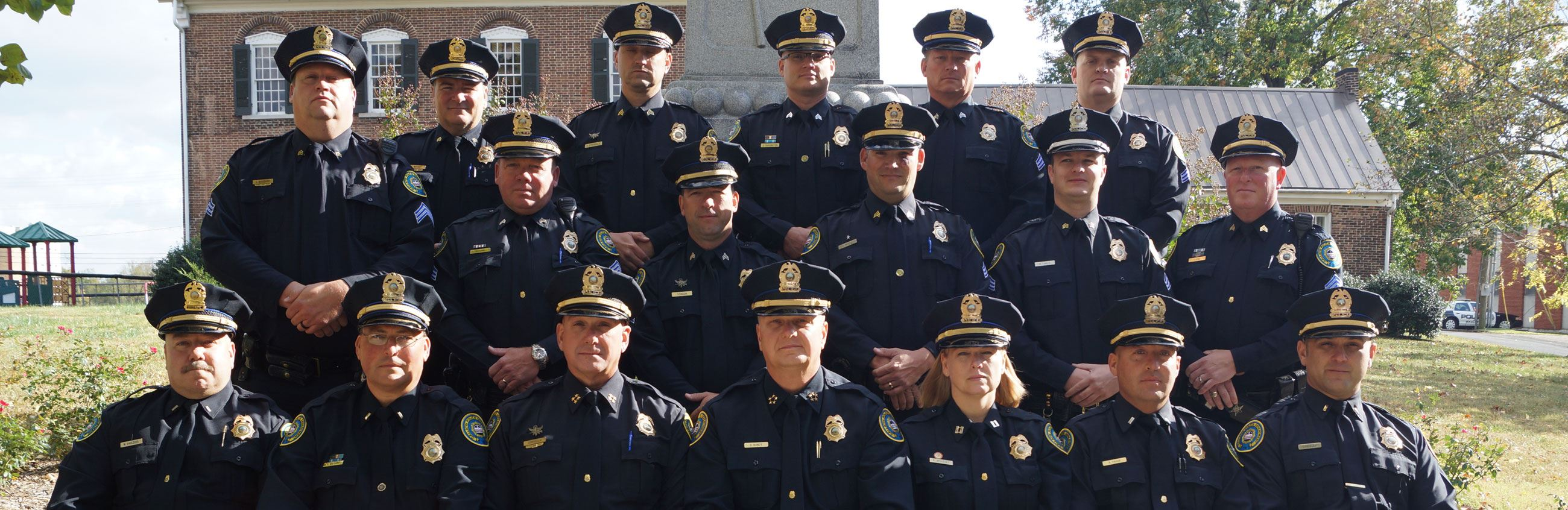 Group Picture of GPD Officers