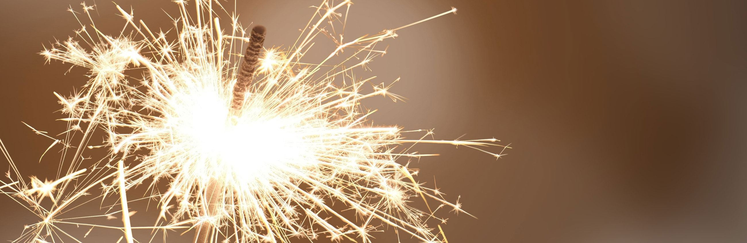 Closeup of Sparkler