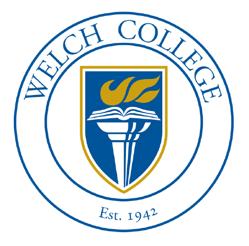 WELCH College seal