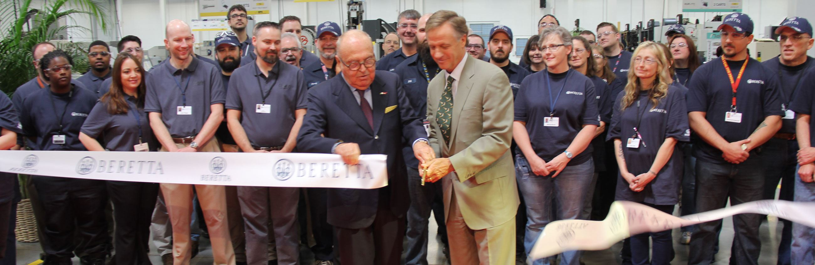 Ribbon Cutting at Beretta Plant