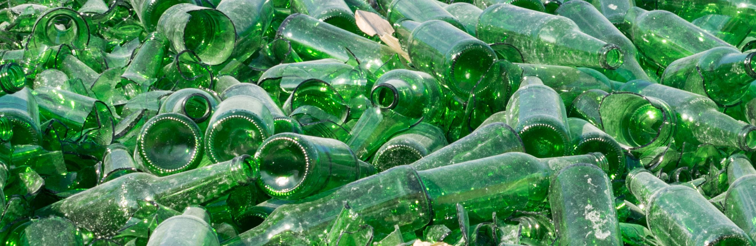 Green Glass for Recycling