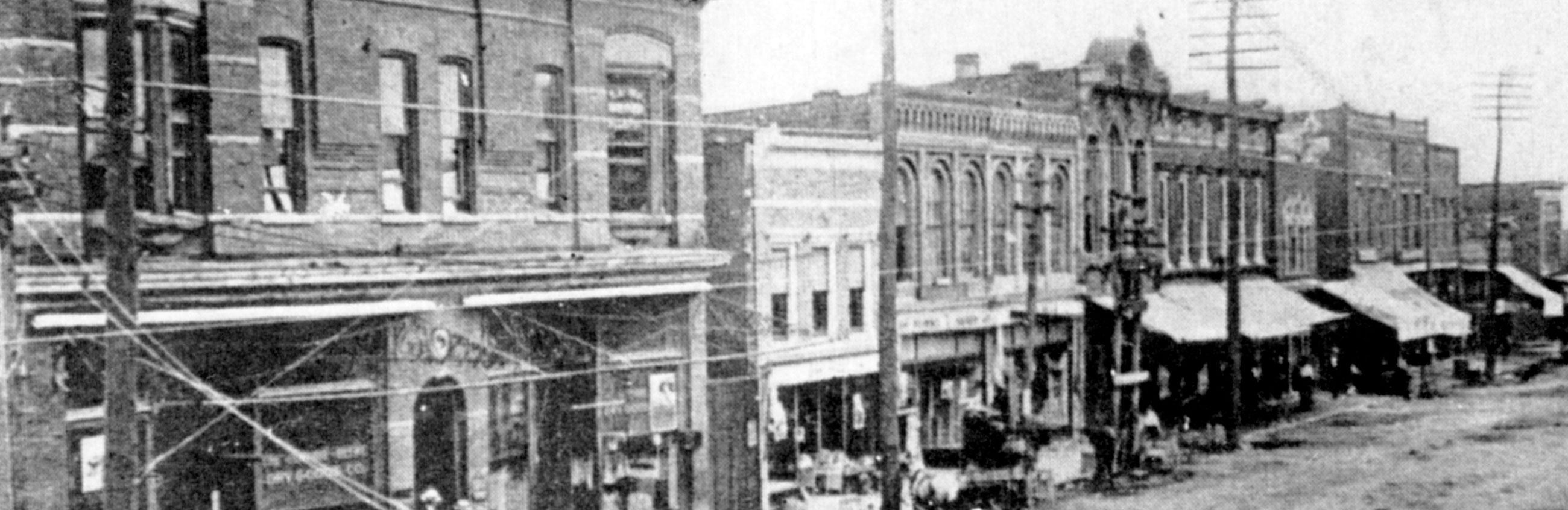 Downtown Gallatin in 1908