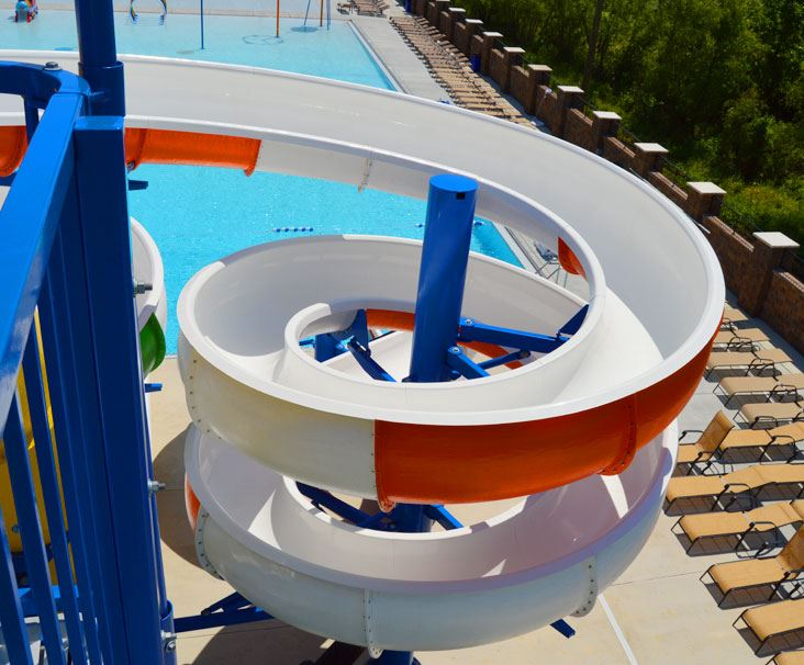 Tommy Garrott Aquatics Pool Slide