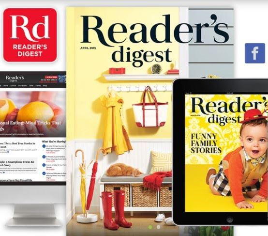 Readers Digest media platforms