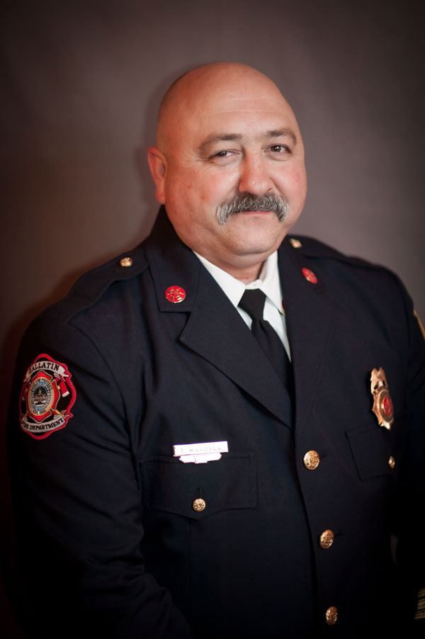 Battalion Chief Todd Wagoner