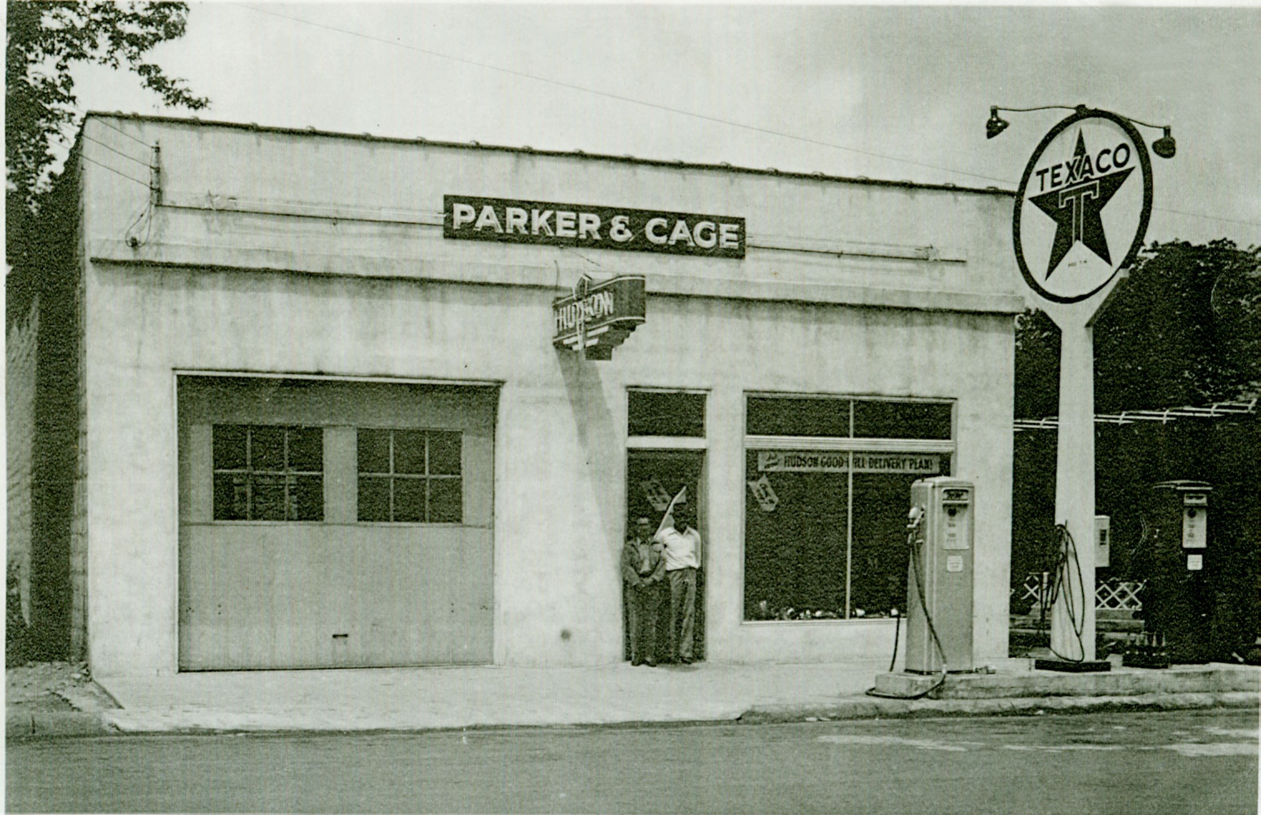 Parker Cage Gas Station