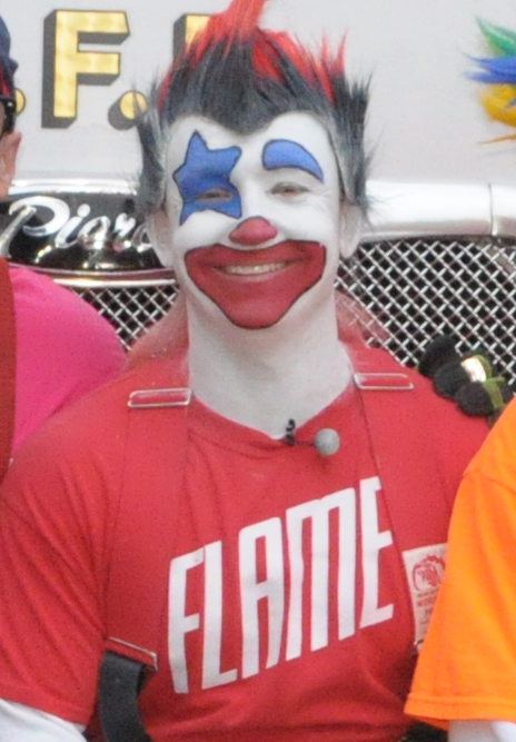 Flame of the GFD Clown Troupe