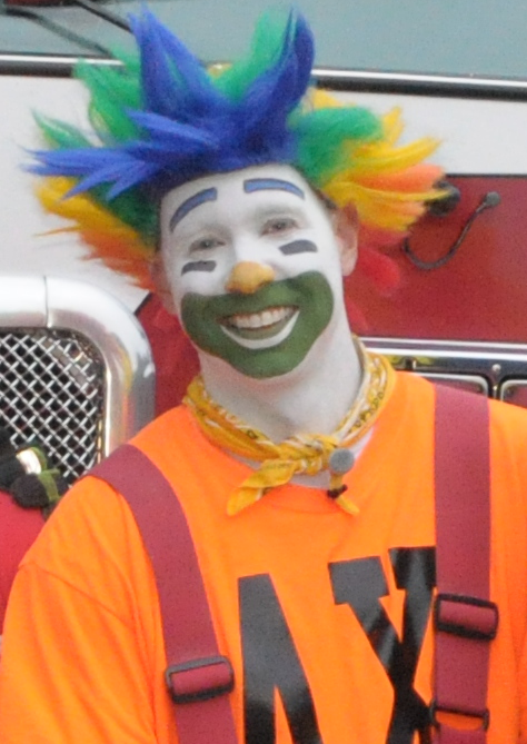 Ax of the GFD Clown Troupe