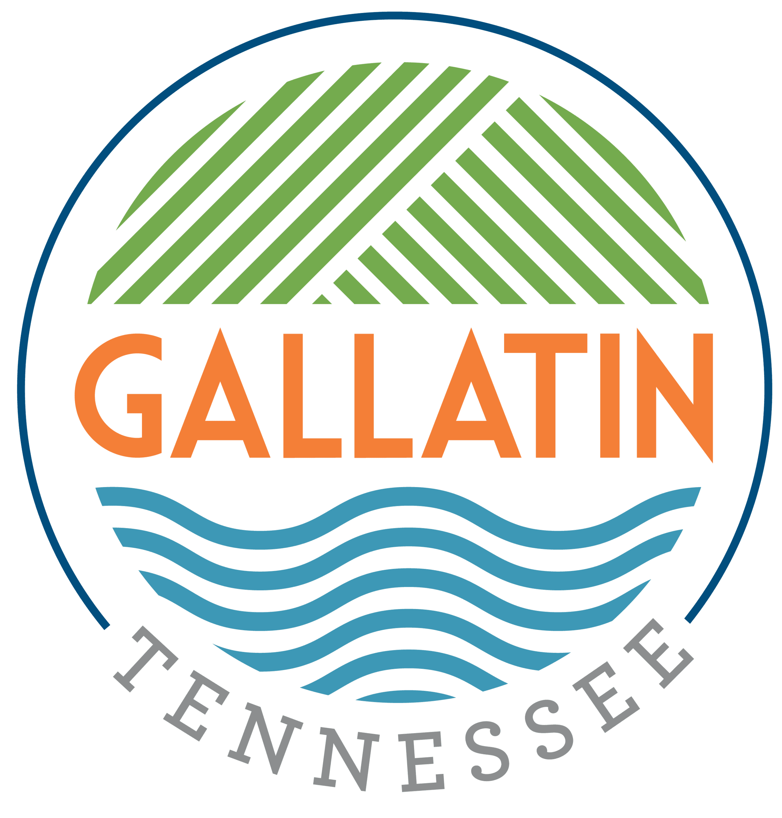 Gallatin TN Logo in Color