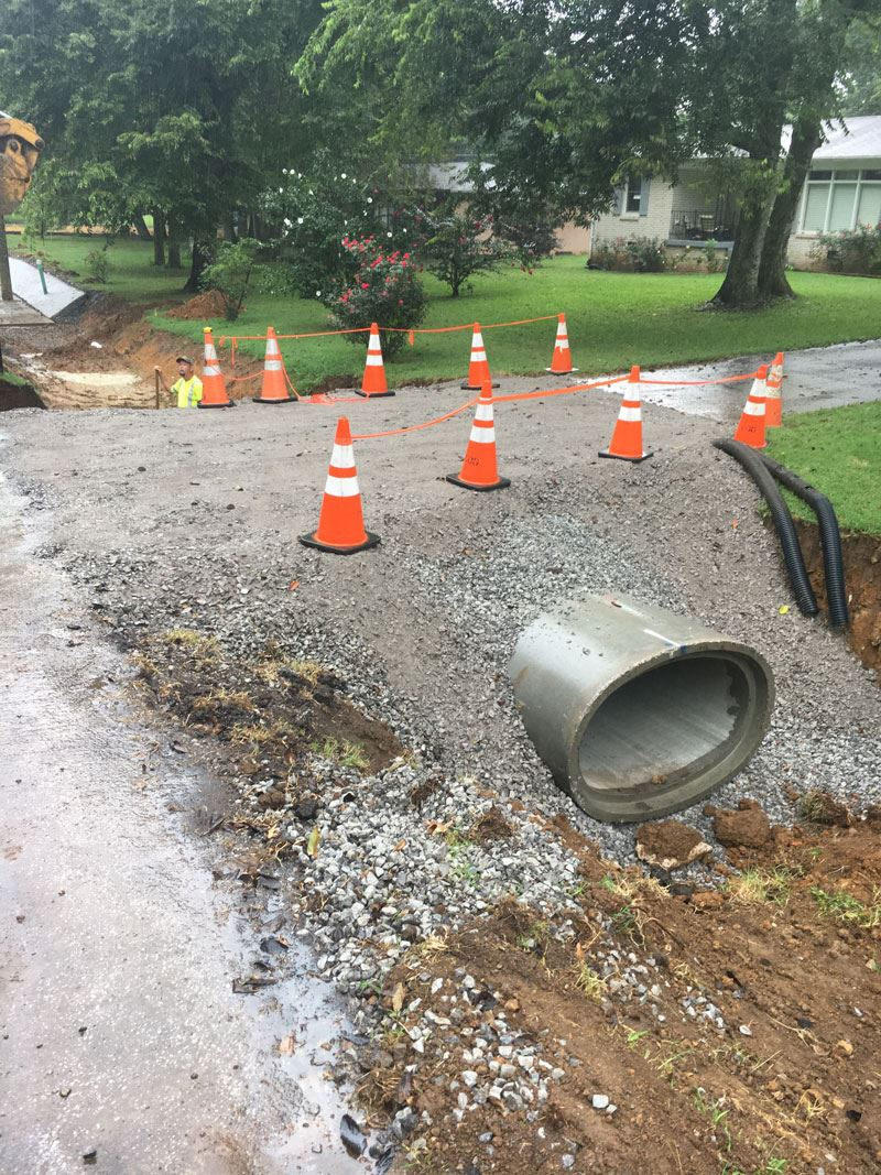 Joslin drainage improvements