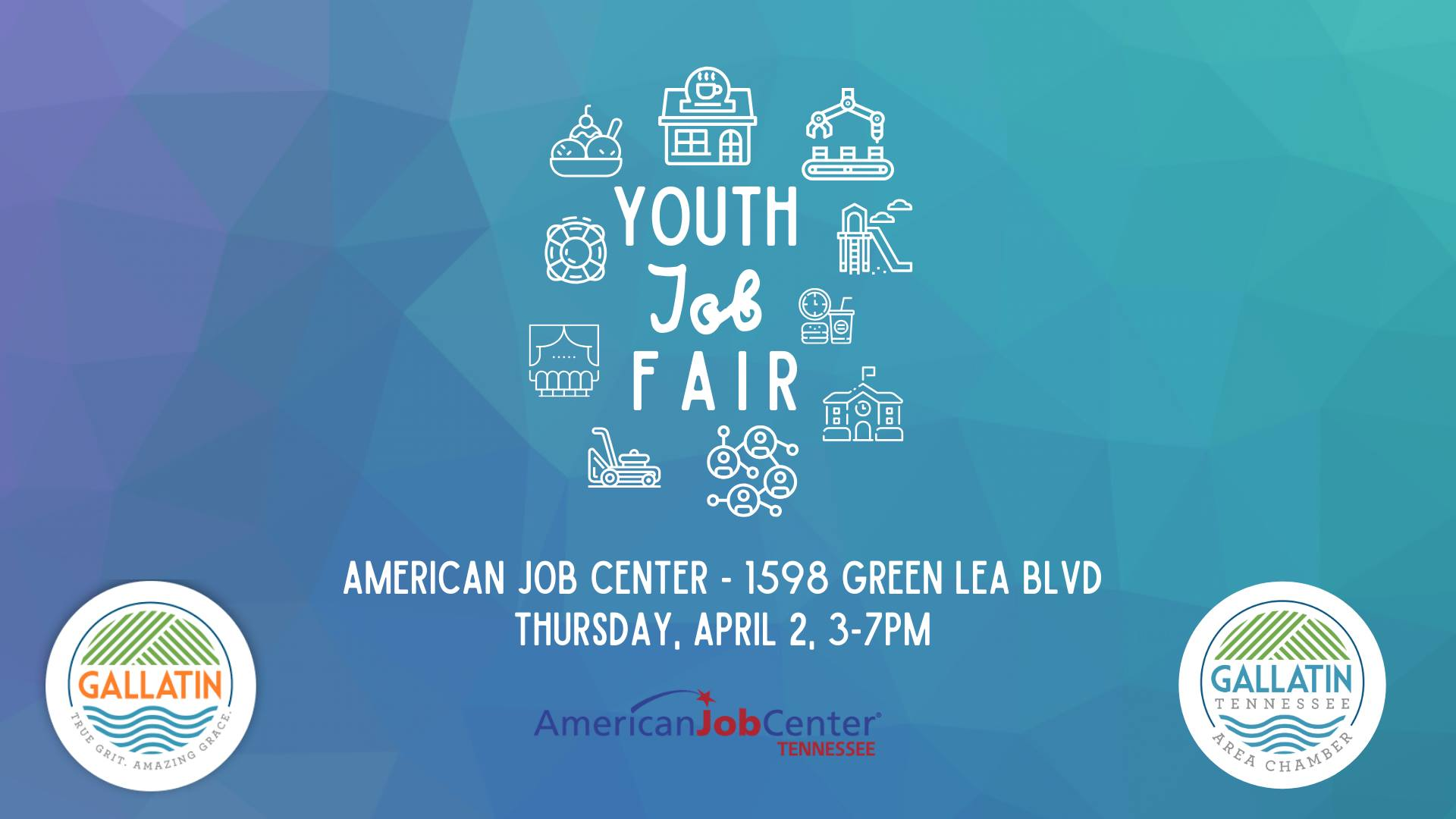 Summer Job Fair Flyer