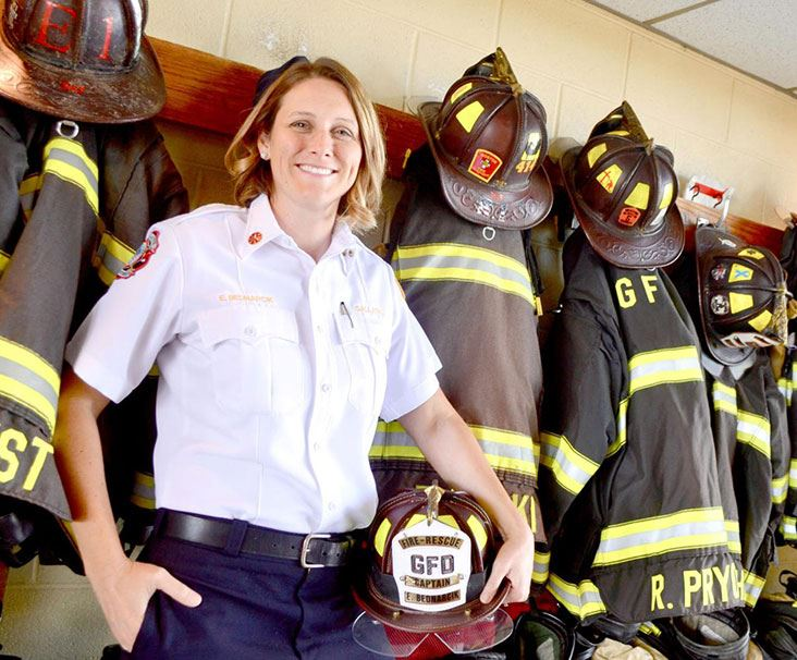 Elizabeth Bednarcik becomes Gallatin Fire Marshal