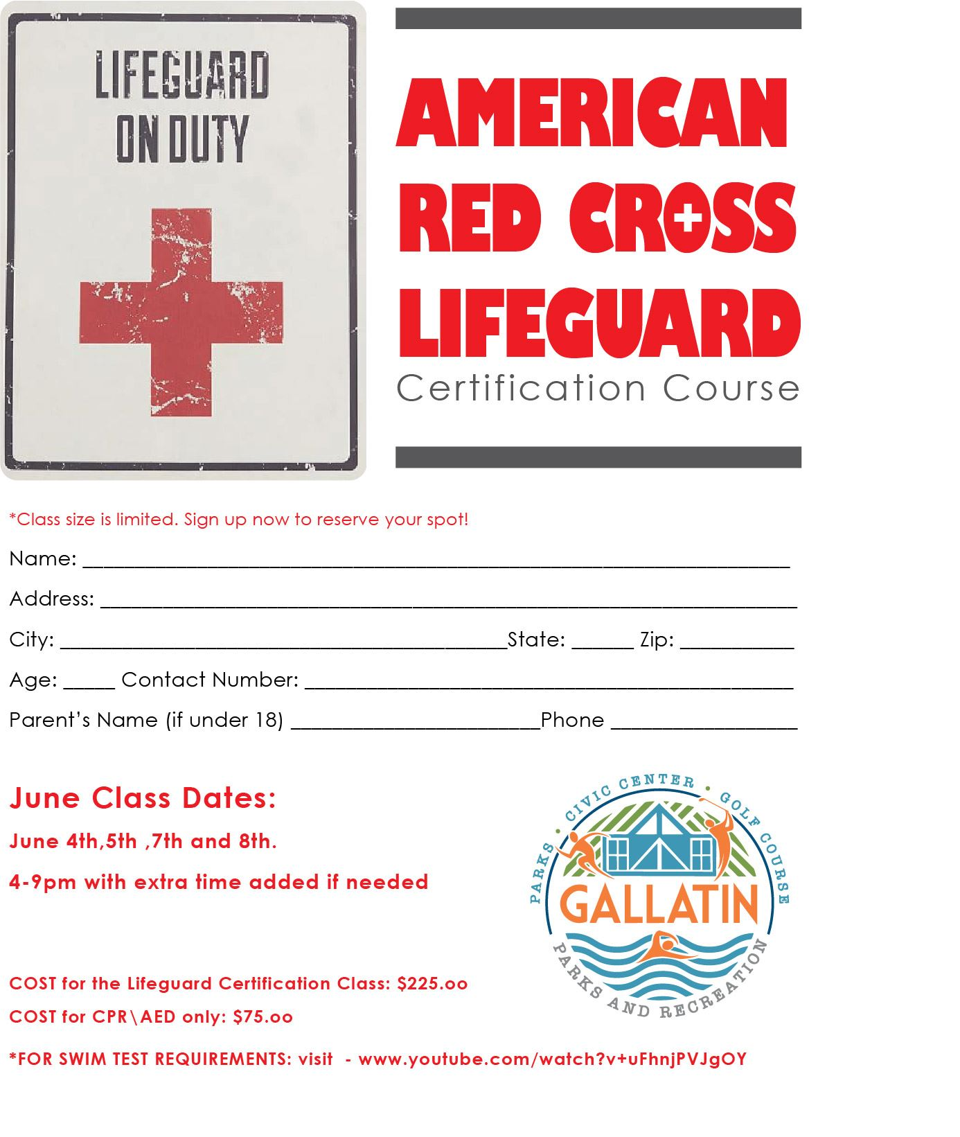 Lifeguard cert. form_2019JUNE