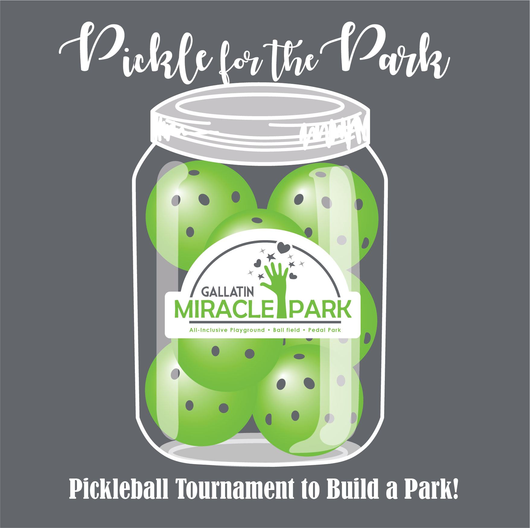 pickleball for the park logo