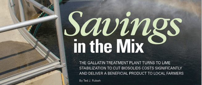 Savings in the Mix, Image of Article