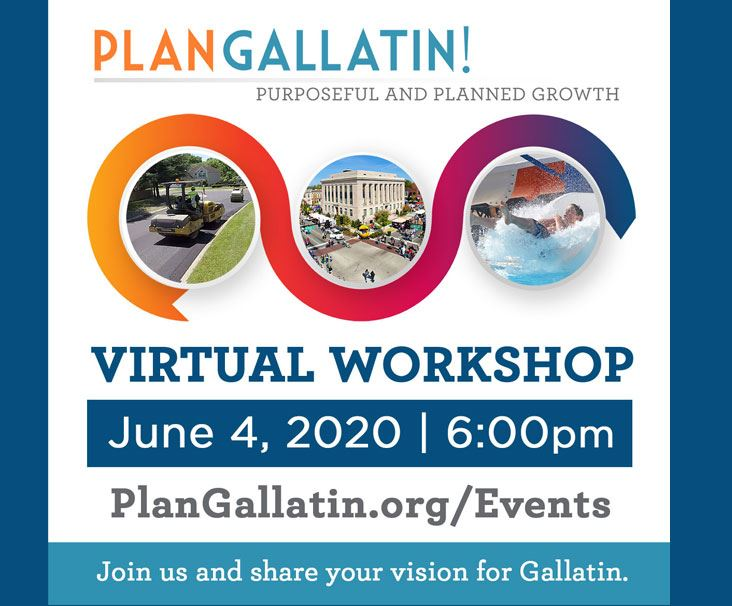 Plan Gallatin Graphic with June 4 Event Date