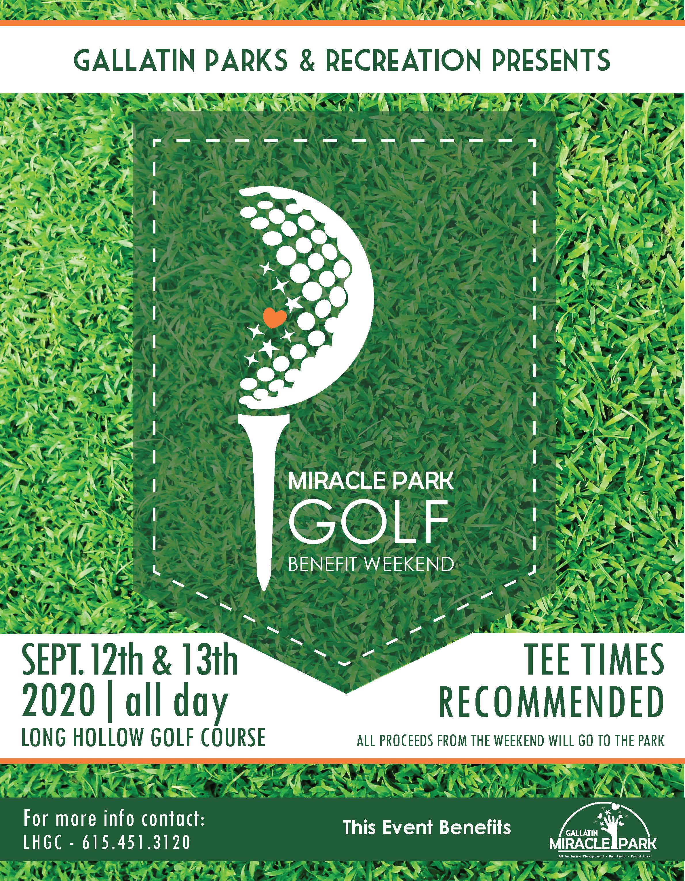 2020 Miracle Park GOLF  FLYER