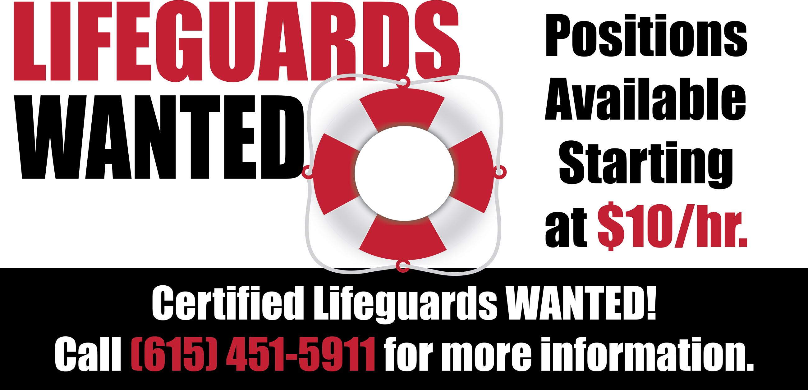 BANNER CERTIFIED Lifeguards