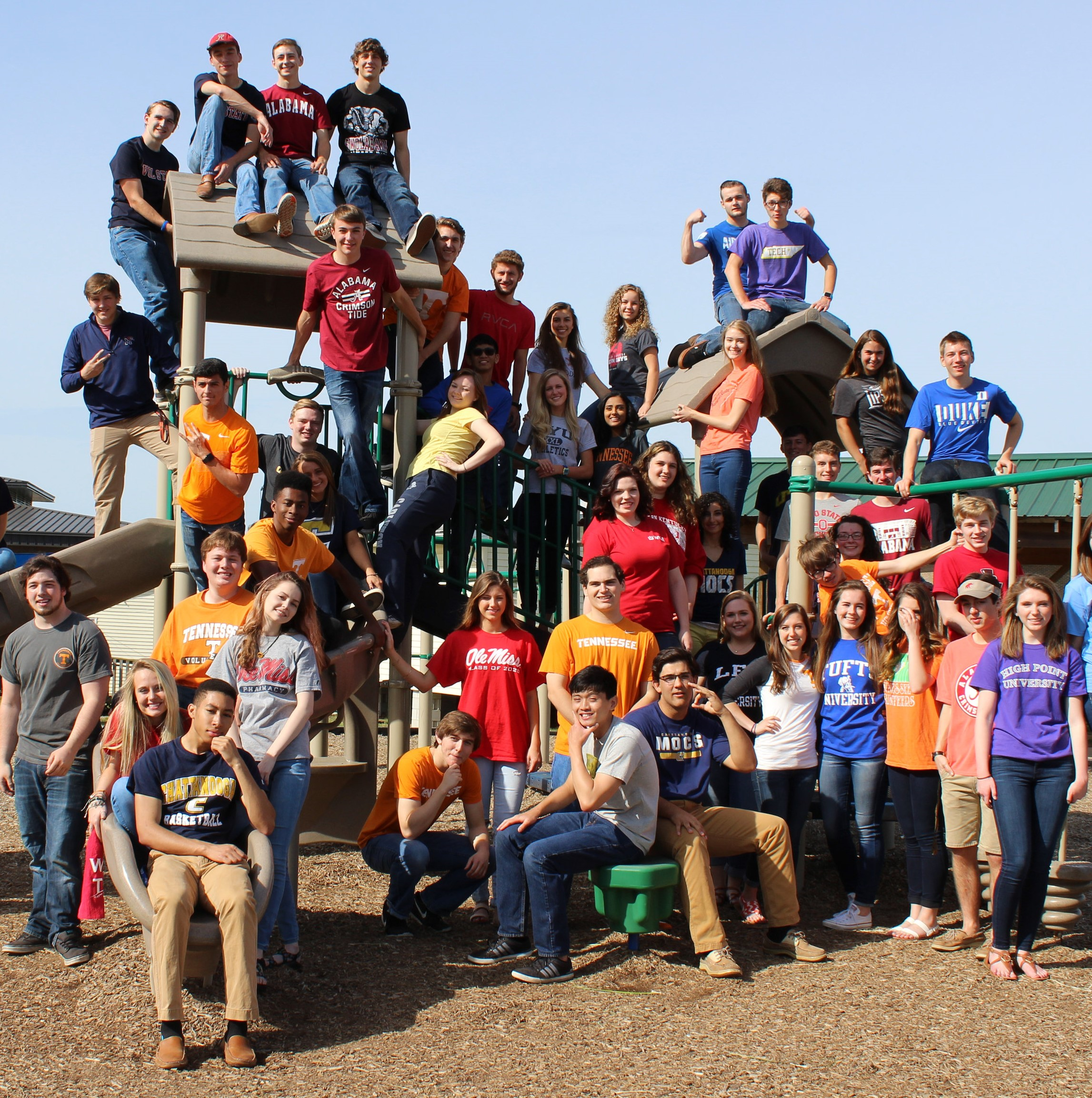 Class Photo on Playground