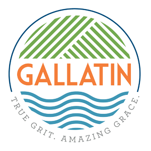 Gallatin Color Logo with Tagline