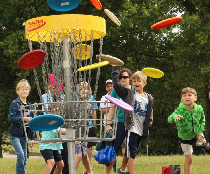 Frisbee Golf at Triple Creek Park