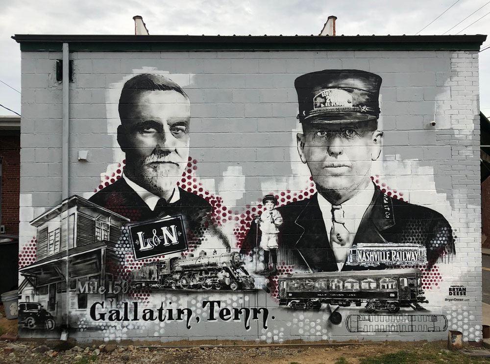 Downtown Murals | Gallatin, TN